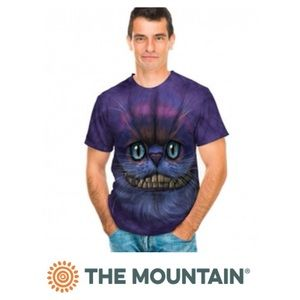 The Mountain Big Face Cheshire Cat Unisex T-Shirt